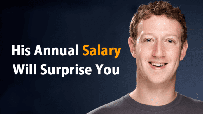 You Won't Believe How Much Salary Mark Zuckerberg Earns In A Year