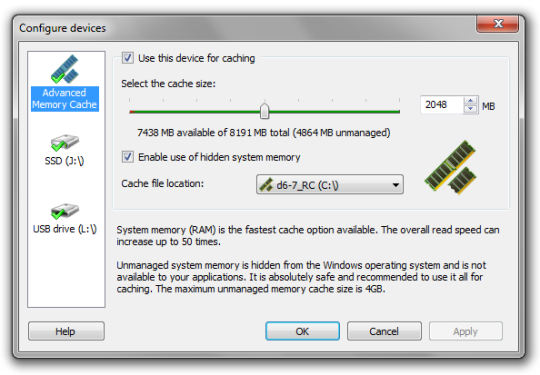 Technology Management Image: How To Increase RAM Using USB/Pendrive In Windows 8 & 10