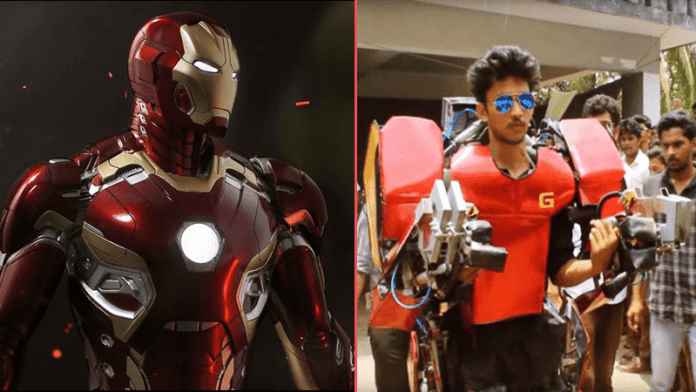 Indian Engineering Student Builds a Real-Life Iron Man suit for just $750