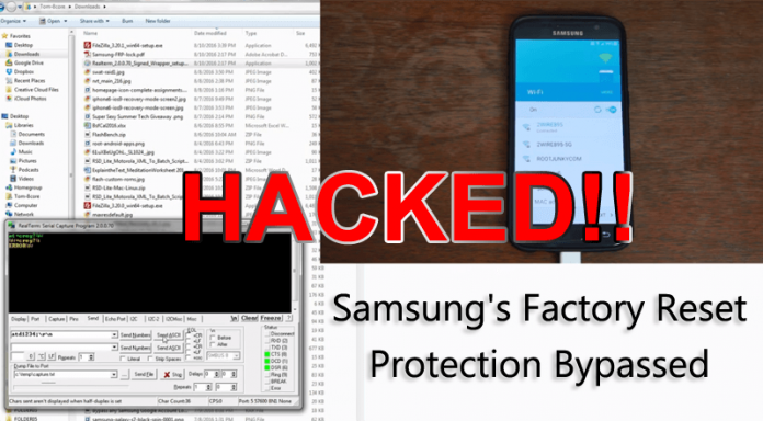 This Hack Can Factory Reset Any Samsung Phone Without a Password