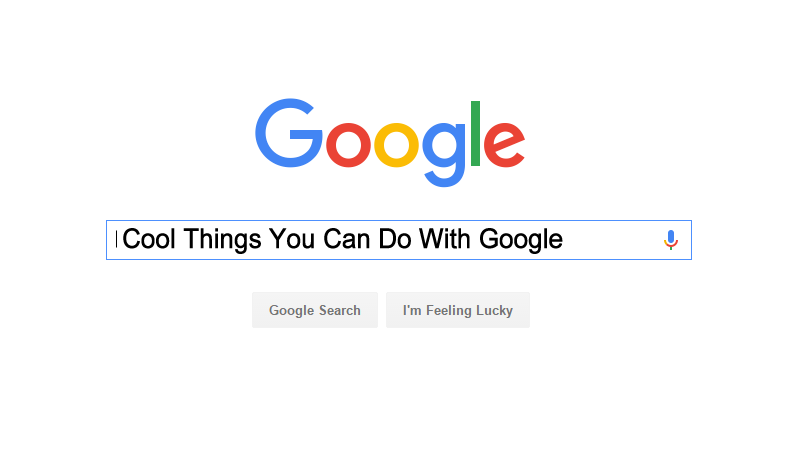 Image result for Cool Things about Google Features