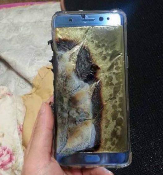 Galaxy Note 7 Molten