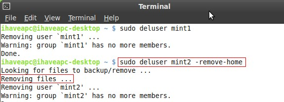 Add user in Ubuntu Server