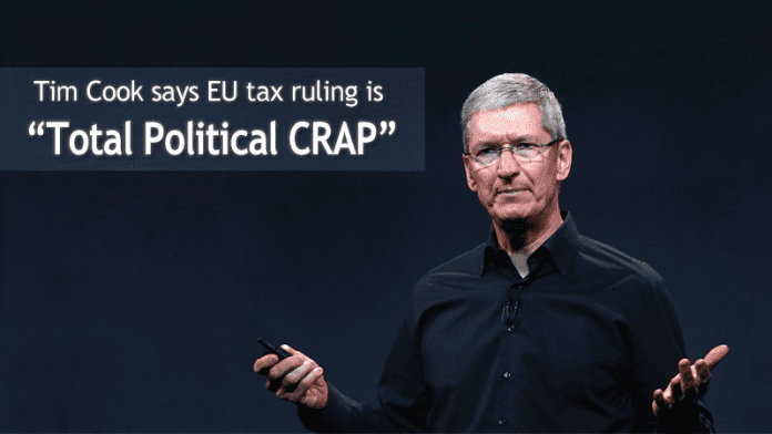 Apple CEO Tim Cook Pours Scorn On EU Tax Ruling