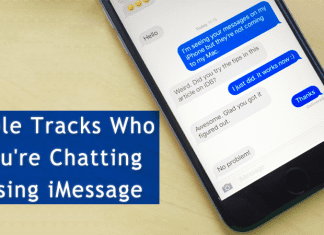 Apple Tracks Who You're Chatting Using iMessage