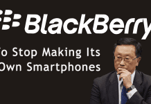 BlackBerry To Stop Making Its Own Smartphones