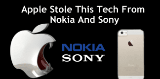 Court Finds Apple Guilty Of Stealing Nokia And Sony's Patent For Its iPhone