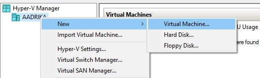 windows virtual machine
