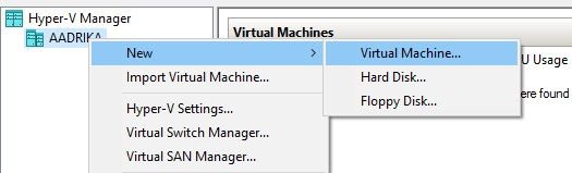 Create a Virtual Machine With Windows 10
