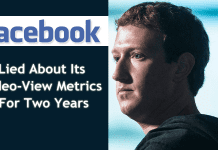 Facebook Lied About Its Video-View Metrics For Two Years