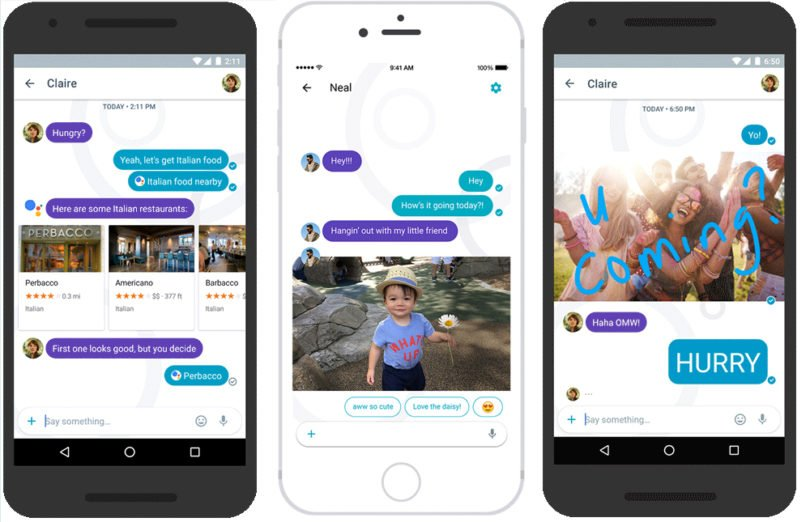 Google Allo in Android and iOS