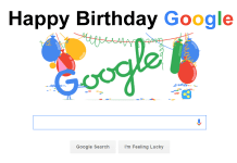 Google Celebrates 18th Birthday With a Doodle, Amid Some Confusion Over The Correct Date