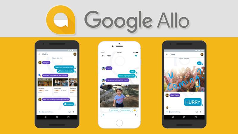 google allo smart messaging