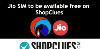 Jio SIM To Be Available Free On ShopClues