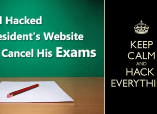 This Kid Hacked President's Website To Cancel His Exams