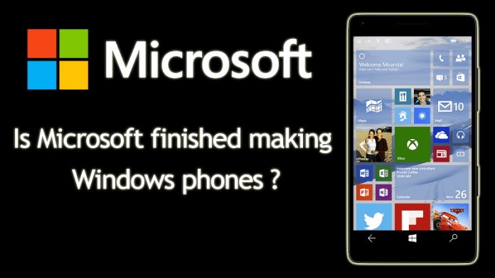 Microsoft Hinted It's The End Of Lumia Windows 10 Mobile Smartphones
