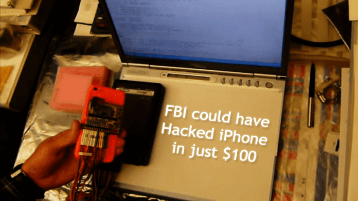 Now You Can Hack iPhone For Less Than $100