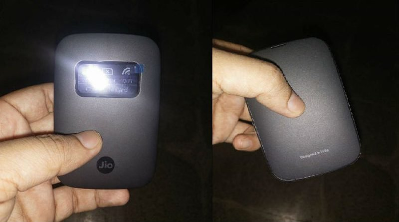 Reliance Jio's New JioFi 4G Device Launched At Rs 1,999