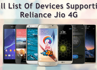 Reliance Jio 4G: Here's The Full List of Devices supporting The Service