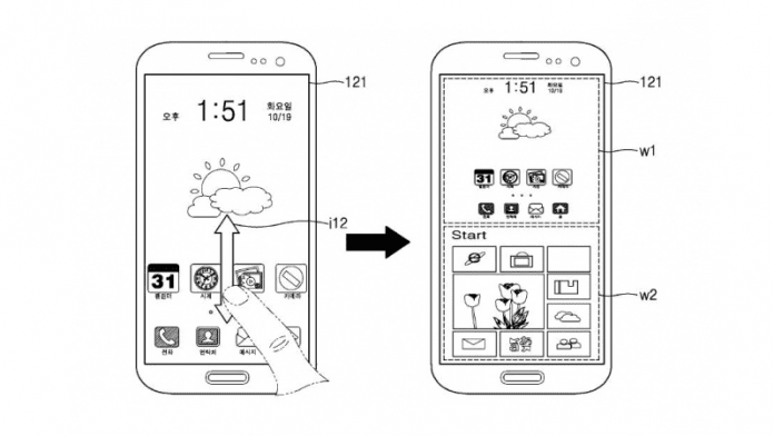 Samsung Patents Smartphone Running Android And Windows Simultaneously