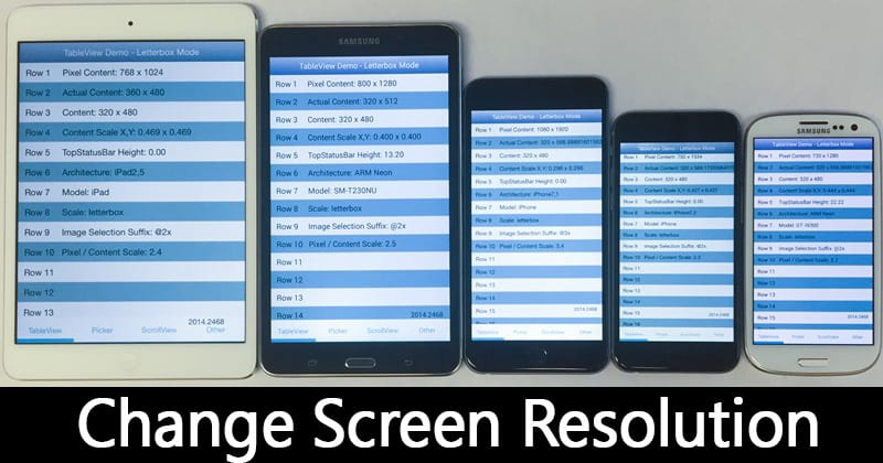 How To Change Android's Screen Resolution Without Rooting