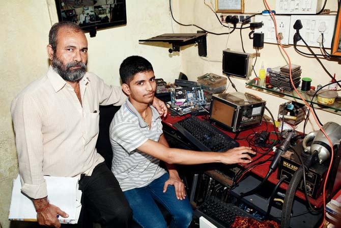 Jayant Parab And His Dad