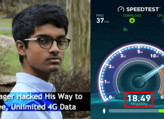 This Teenager Hacked His Way to Free, Unlimited 4G Data