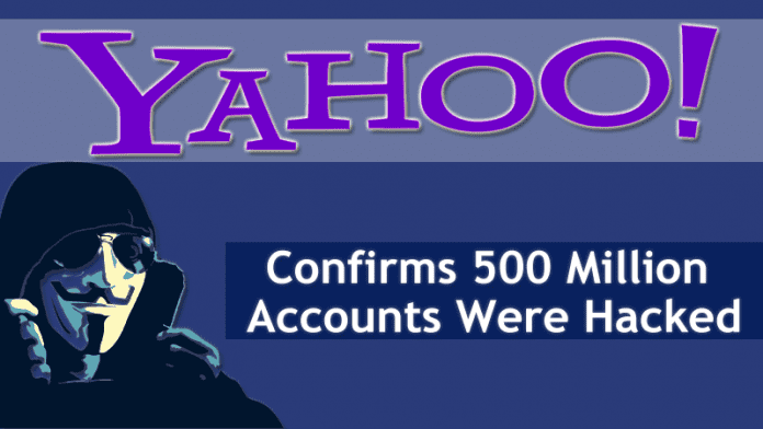 Yahoo Confirms 500 Million Accounts Were Hacked By Hackers