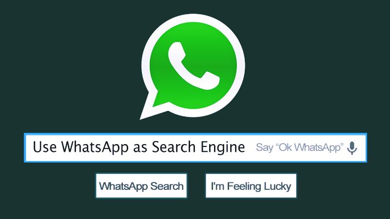 إليك كيفية استخدام WhatsApp كمحرك بحث
