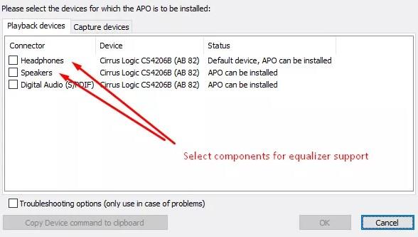 Add Sound Equalizer on Windows 10