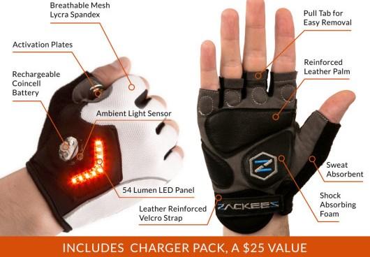 Zakes Turn Signal Gloves