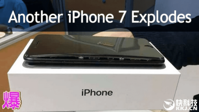 Another Case Of iPhone 7 Exploding Reported