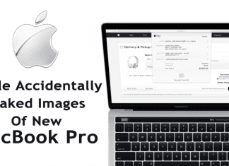 Apple Accidentally Leaked Images Of New MacBook Pro