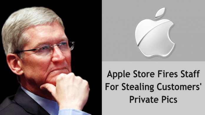Apple Store Staff Sacked For Sharing Customers' Intimate Pictures