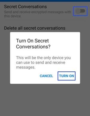 Encrypt Facebook Messenger and Send Self-Destruct Texts