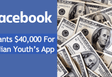Facebook Grants $40,000 For Indian Youth's App