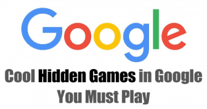 Cool Google Games