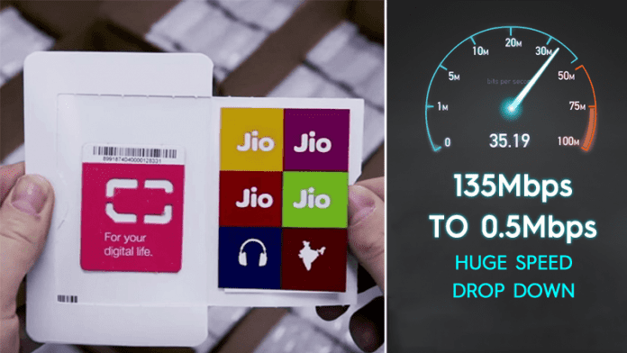 Reliance Jio 4G Speed Have Totally Gone Down