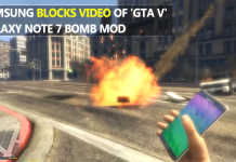 Samsung Blocks Video of 'GTA V' Galaxy Note 7 Bomb Mod from YouTube