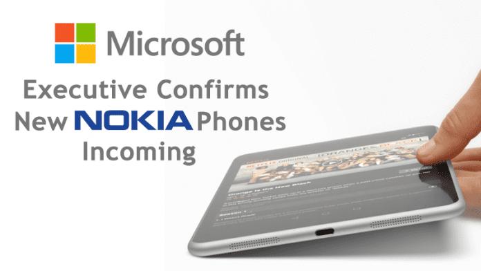 Microsoft Executive Confirms New Nokia Phones Incoming