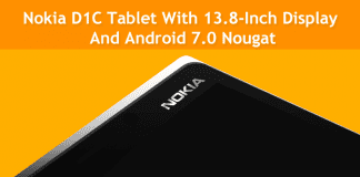 Nokia D1C Might Be A 13.8-Inch Android 7.0 Tablet