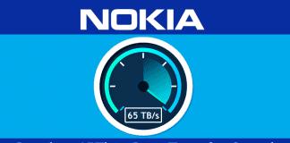 Nokia Reaches 65Tbps Data Transfer Speed