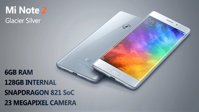 Xiaomi Mi Note 2 Launched: Perfect Galaxy Note 7 Replacement