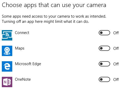 Properly Change App Permissions on Windows 10