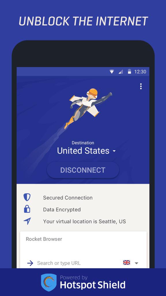 Rocket VPN Android