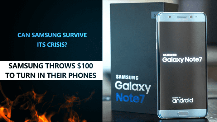 Samsung To Note 7 Users: Here's an Extra $100 for Your Phone