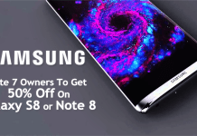 Samsung Promises Note 7 Owners A 50% Discount On The Galaxy S8 or Note 8