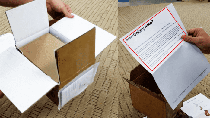 Samsung Sends Out Fire-Resistant Boxes To Return Galaxy Note 7