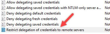 Secure Remote Desktop with Remote Credential Guard in Windows 10