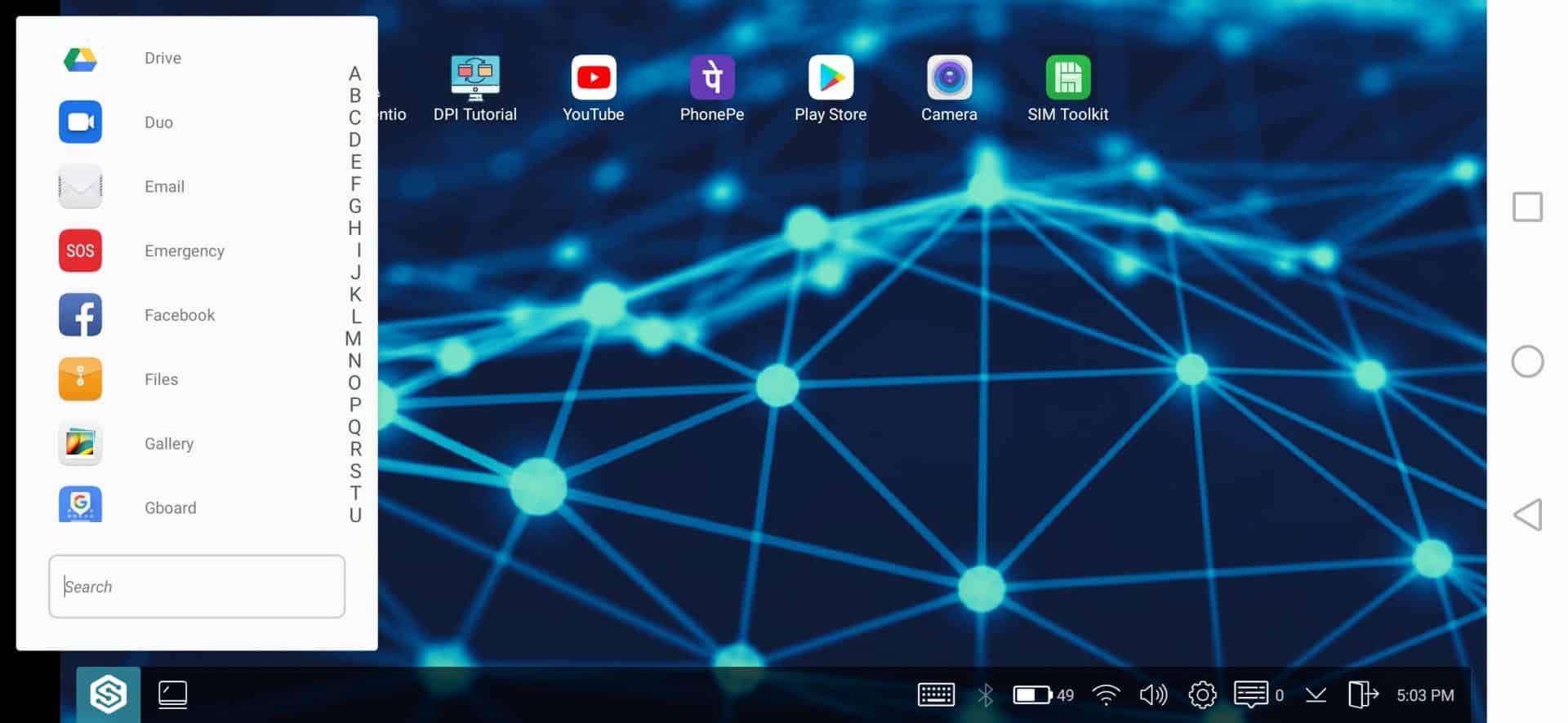 Using Sentio Desktop